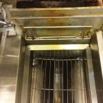 carbon and skainky covered fryer
